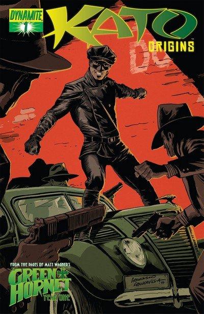 Kato Origins – Way of the Ninja #1 – 5 + TPB (2010)