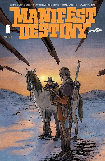 Manifest Destiny #34 (2018)