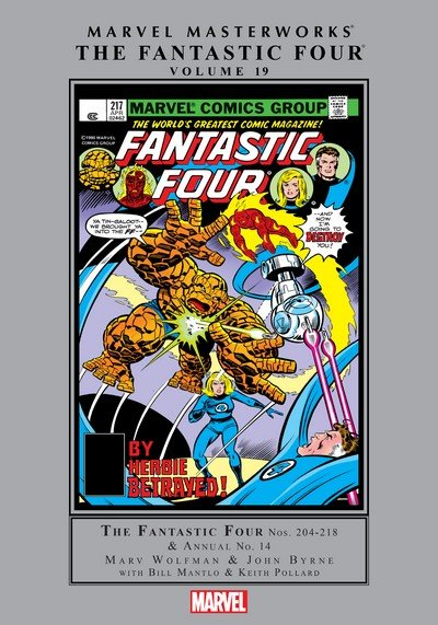 Marvel Masterworks – Fantastic Four Vol. 19 (2017)