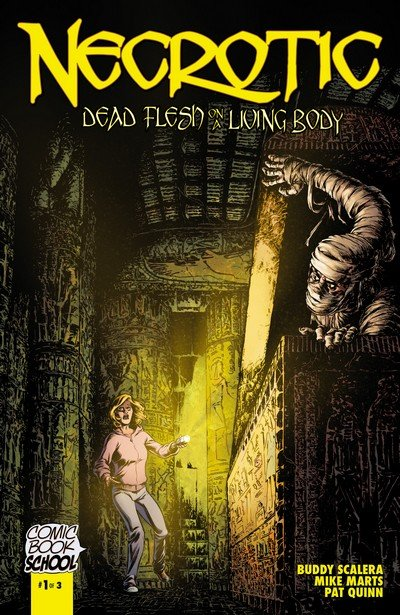 Necrotic – Dead Flesh on a Living Body #1 – 3 (2013)