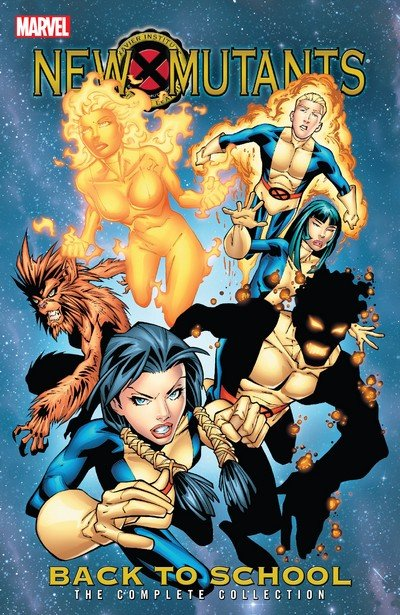 New Mutants – Back to School – The Complete Collection (TPB) (2018)