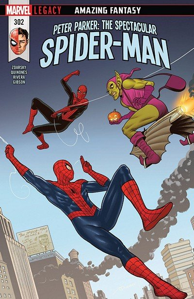 Peter Parker – The Spectacular Spider-Man #302 (2018)