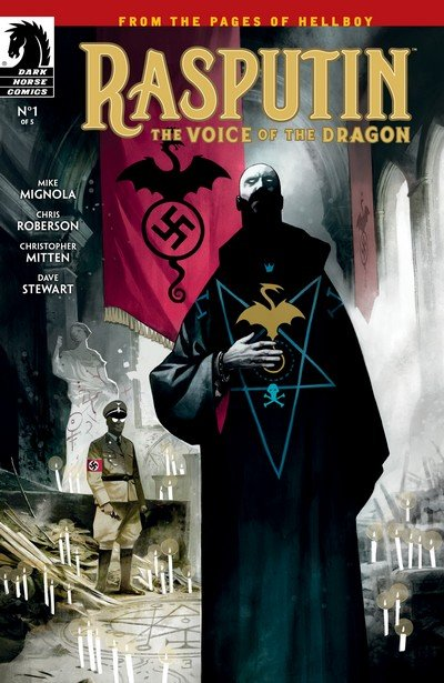Rasputin – The Voice of the Dragon #1 – 5 (2017-2018)