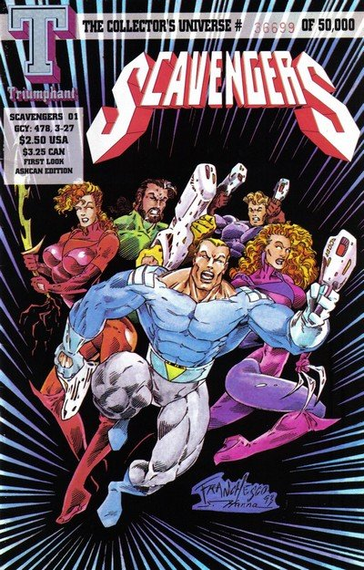 Scavengers #0 – 11 (1993-1994)