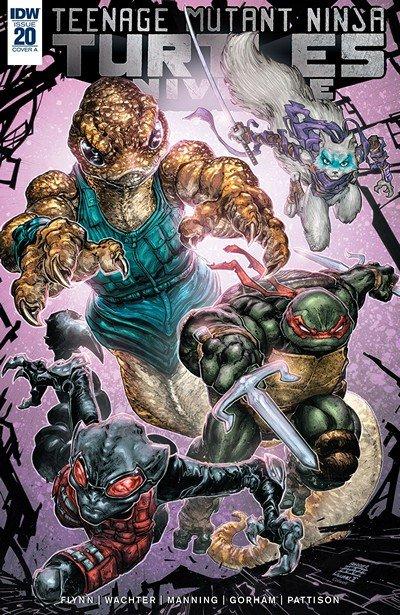Teenage Mutant Ninja Turtles Universe #20 (2018)