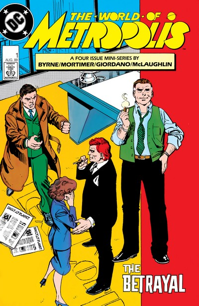The World of Metropolis #1 – 4 (1988)