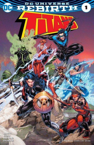 Titans – Rebirth #1 + #1 – 21 + Annual (2016-2018)