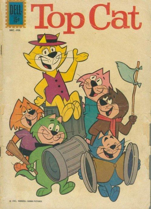 Top Cat #1 – 31 (1962-1970) (Dell – Gold Key)