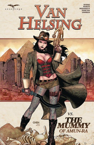 Van Helsing vs. the Mummy of Amun-Ra (TPB) (2017)