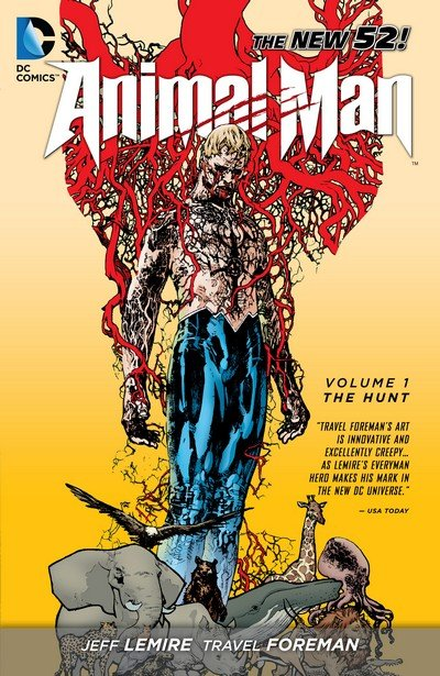 Animal Man Vol. 1 – 5 (TPB) (2012-2014)