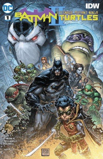 Batman – Teenage Mutant Ninja Turtles II #1 – 6 (2018)
