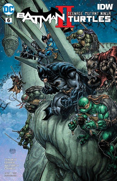 Batman – Teenage Mutant Ninja Turtles II #6 (2018)