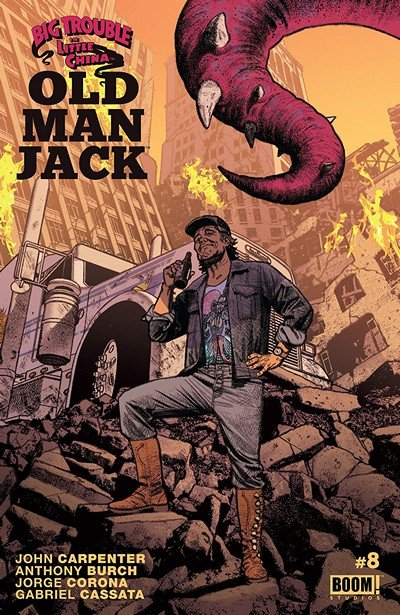 Big Trouble in Little China – Old Man Jack #8 (2018)