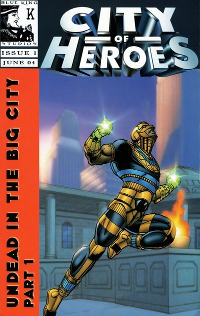 City of Heroes Vol. 1 #1 – 12 (2004-2005)