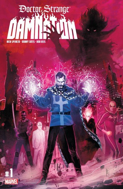 Doctor Strange – Damnation #1 – 4 (2018)