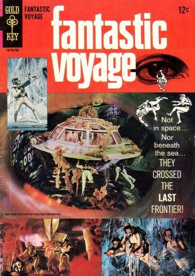 Fantastic Voyage (1966 Movie Comics) (Gold Key)
