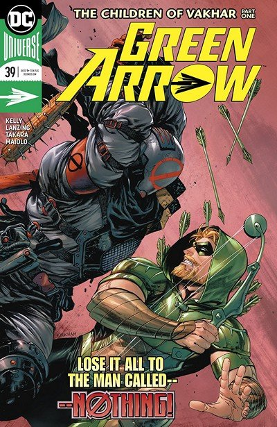 Green Arrow #39 (2018)