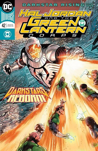 Hal Jordan And The Green Lantern Corps #42 (2018)
