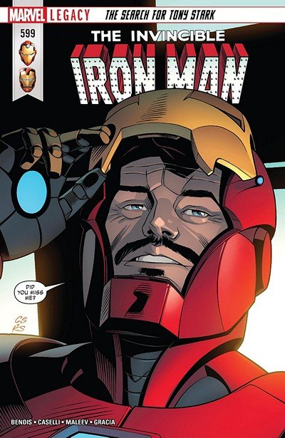 Invincible Iron Man #599 (2018)