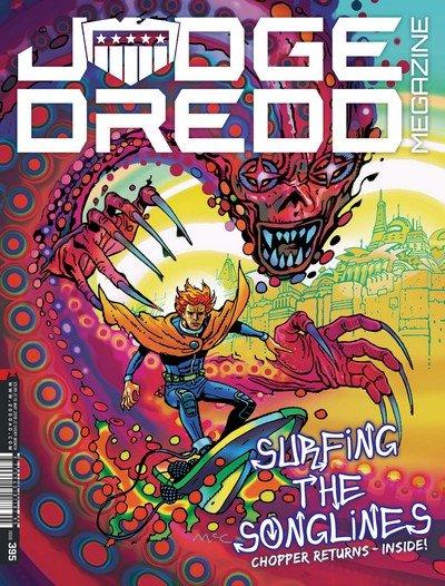 Judge Dredd Megazine #395 (2018)