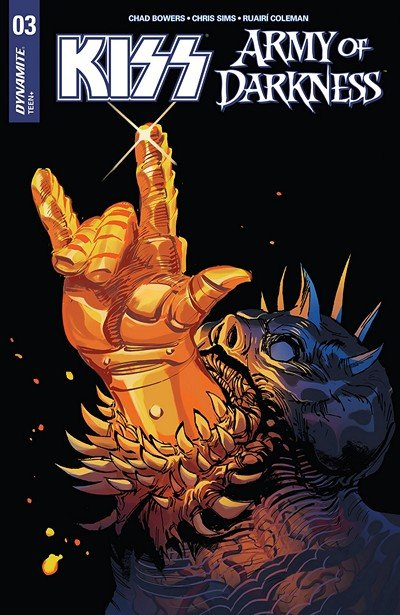KISS – Army Of Darkness #3 (2018)