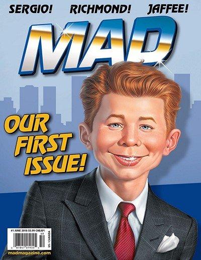 MAD Magazine #1 (2018)