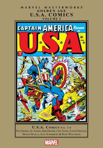 Marvel Masterworks – Golden Age U.S.A. Comics Vol. 2 (2011)