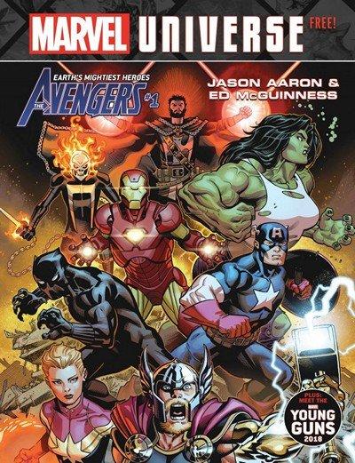 Marvel Universe Magazine #1 (2018)