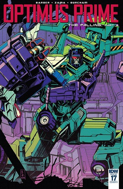 Optimus Prime #17 (2018)