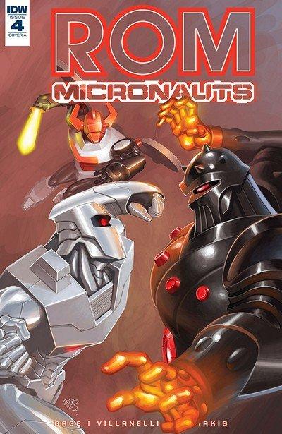 ROM & The Micronauts #4 (2018)