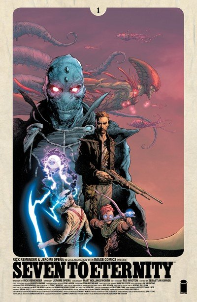 Seven to Eternity #1 – 9 + TPB Vol. 1 – 2 (2016-2017)