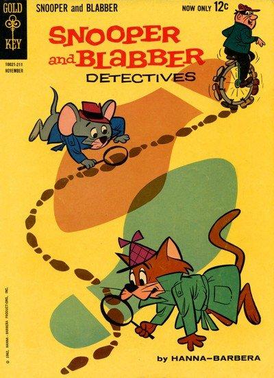 Snooper and Blabber Detectives #1 – 3 (1962-1963)