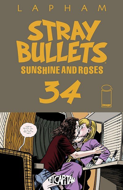 Stray Bullets – Sunshine And Roses #34 (2018)