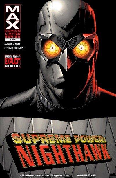 Supreme Power – Nighthawk #1 – 6 (2005-2006)