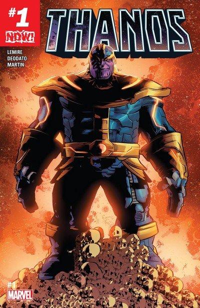 Thanos #1 – 18 + TPB Vol. 1 – 2 (2017-2018)