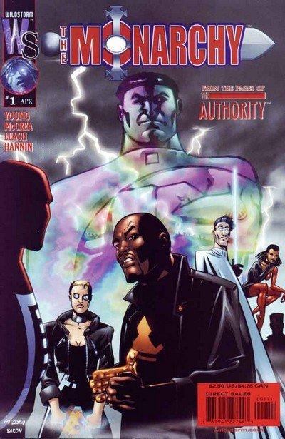 The Monarchy Vol. 1 #1 – 12 (2001-2002)