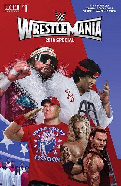WWE Wrestlemania 2018 Special #1 (2018)