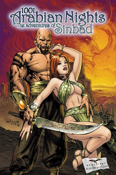 1001 Arabian Nights – The Adventures of Sinbad #0 – 13 (2008-2011)