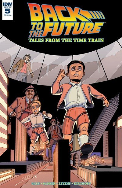 Back To The Future – Tales From The Time Train #5 (2018)
