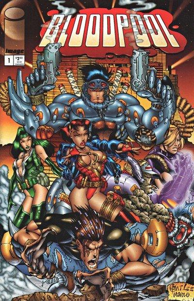 Bloodpool Vol. 1 #1 – 4 (1995)