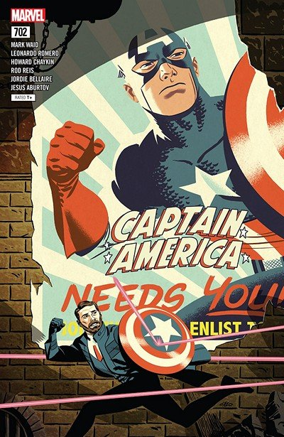 Captain America #702 (2018)