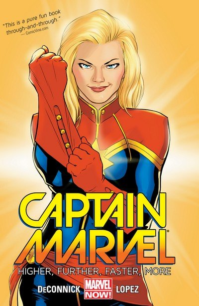 Captain Marvel Vol. 5 TPB – Vol. 1 – 3 (2014-2015)