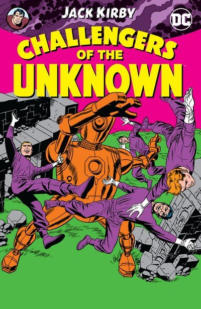 Challengers of the Unknown by Jack Kirby (2017)