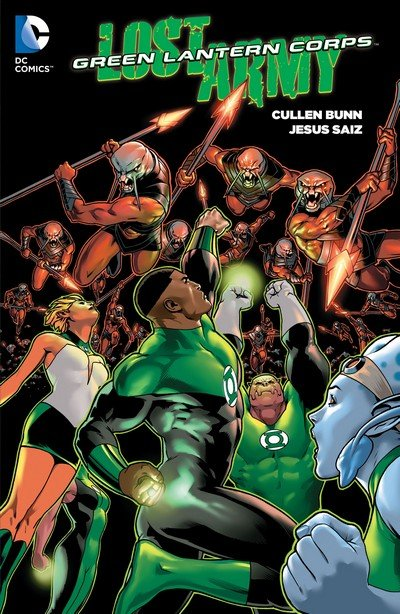 Green Lantern Corps – The Lost Army (TPB) (2016)