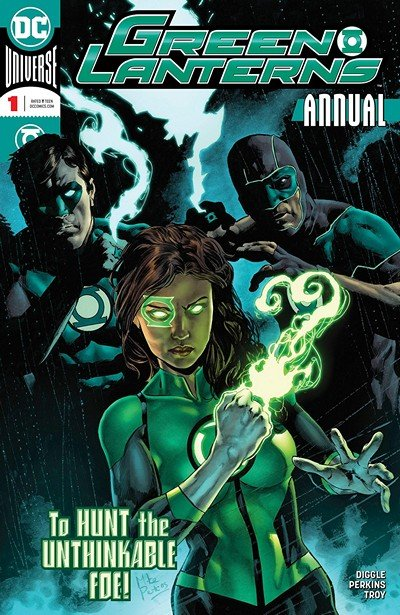 Green Lanterns Annual #1 (2018)