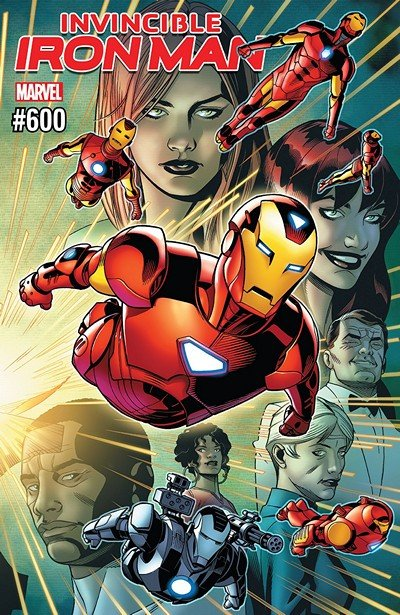 Invincible Iron Man #600 (2018)