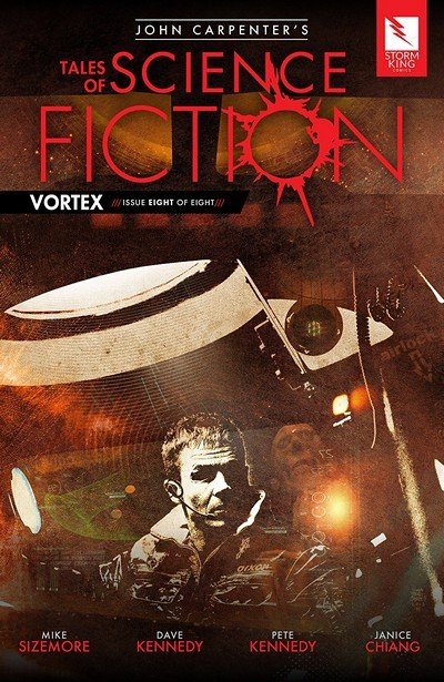 John Carpenter's Tales of Science Fiction – Vortex #8 (2018)