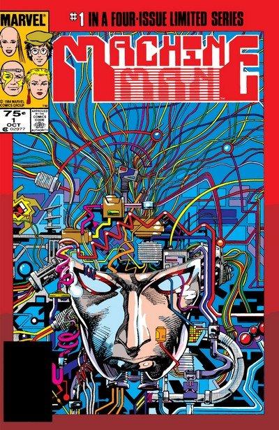 Machine Man #1 – 4 (1984-1984) + Machine Man 2020 #1 – 2 (1994)