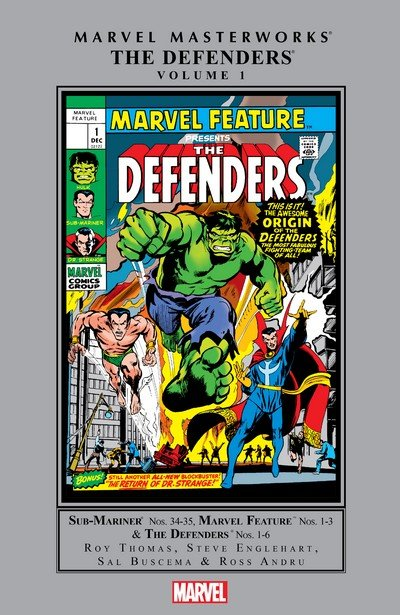 Marvel Masterworks – The Defenders Vol. 1 – 6 (2008-2018)