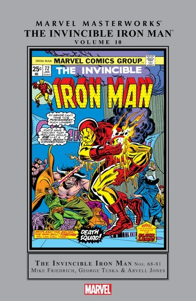 Marvel Masterworks – The Invincible Iron Man Vol. 10 (2017)